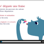 Video odour perception