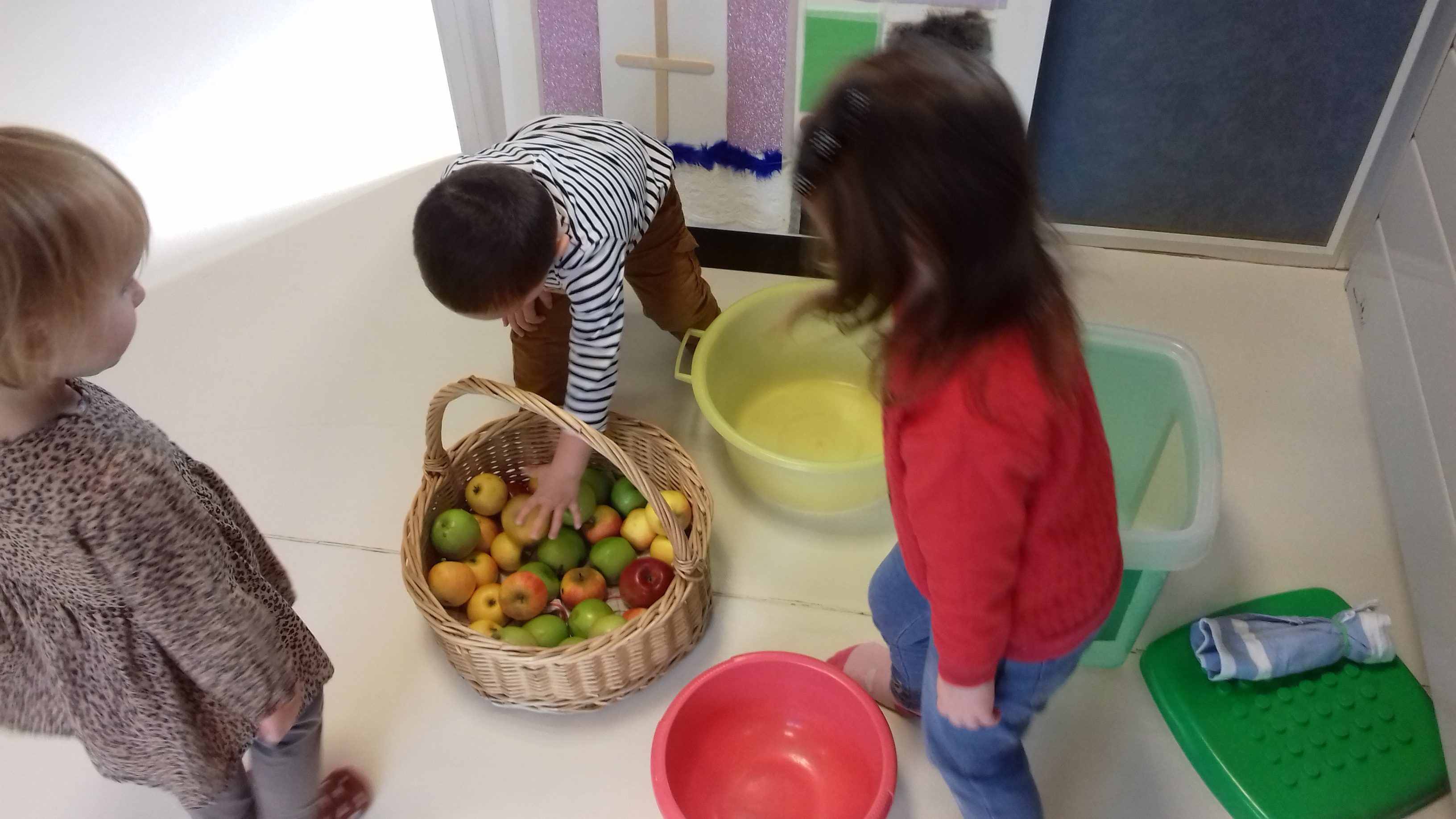 Early Years activities for Taste Week 12th-16th October 2020